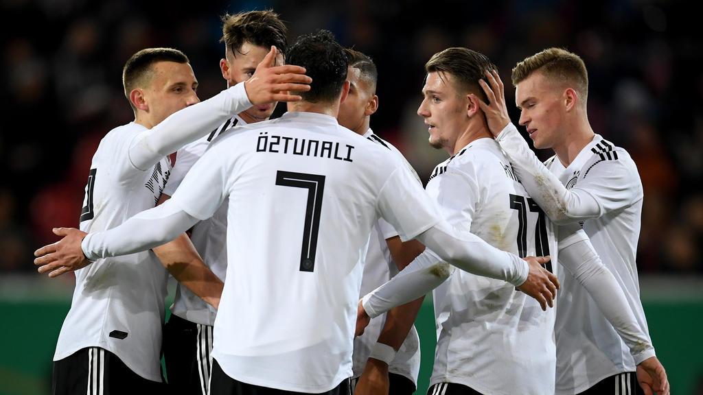 Die deutsche U21-Auswahl ist seit über einem Jahr ungeschlagen