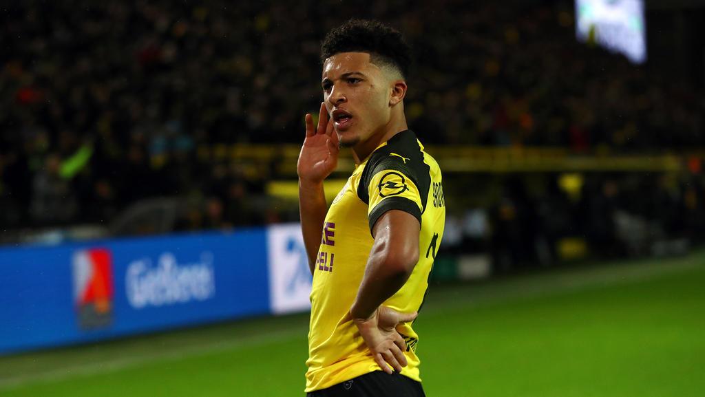 BVB-Youngster Jadon Sancho warnt FC-Bayern-Flirt Callum Hudson-Odoi