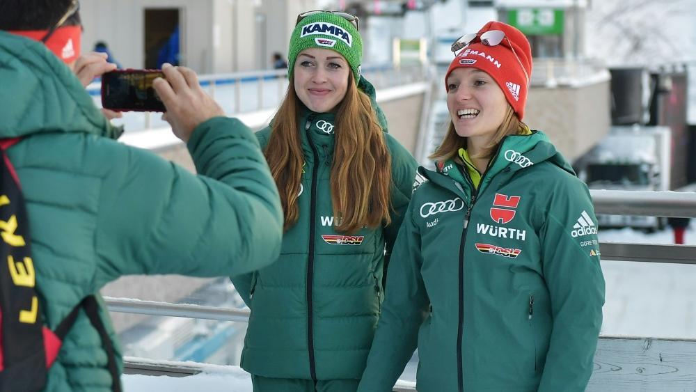 Seyfarth und Althaus im Mixed-Team der Skispringer