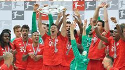 Bayern München holt zum siebten Mal in Folge den Titel