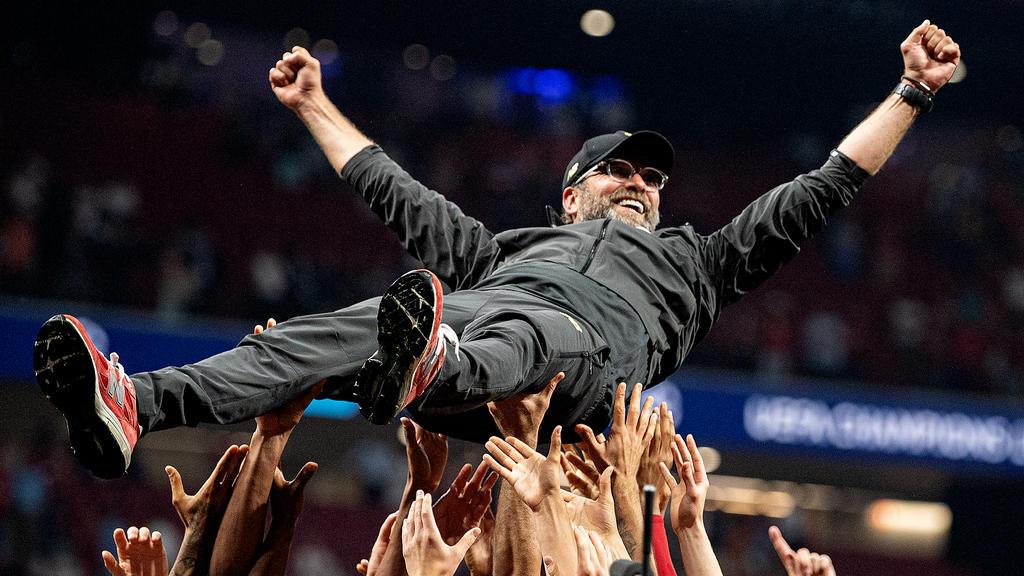 Jürgen Klopp hat den Sieg der Champions League sichtbar genossen