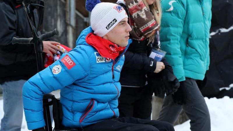 Der querschnittsgelähmte Skispringer Lukas Müller bestreitet bis zu 98 Prozent seines Alltags imRollstuhl. Foto: Daniel Karmann