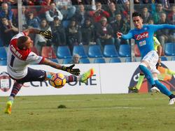 En sus tres partidos anteriores, el Nápoles había terminado derrotado. (Foto: Getty)