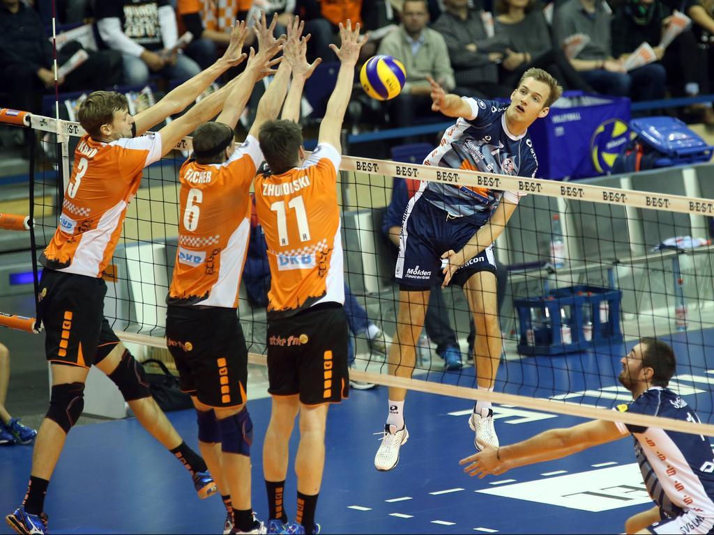Die BR Volleys bleiben Europas Zuschauermagnet Nummer 1
