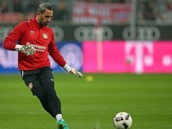 Ramazan Özcan kommt für Leverkusen in der Champions League zum Einsatz