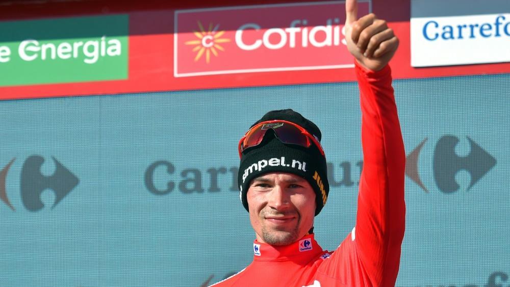 Primoz Roglic bleibt Gesamtführender der Vuelta
