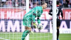 Manuel Neuer wollte die Leistung des FC Bayern in Frankfurt nicht schönreden