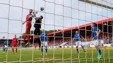 Der 1. FC Heidenheim und Hansa Rostock haben die Punkte geteilt