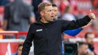Frank Kramer, Coach vonArminia Bielefeld, hofft gegen den FC Augsburg auf den ersten Saisonsieg
