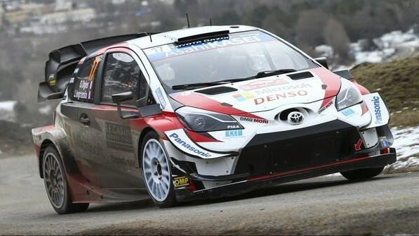 Sebastien Ogier steht vor seiner zweiten Rallye im Toyota Yaris