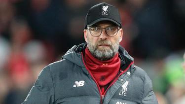 Für mit dem FC Liverpool die Tabelle der Premier League an: Trainer Jürgen Klopp