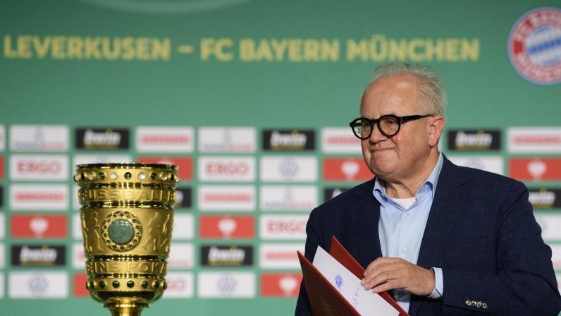 DFB-Präsident Fritz Keller freut sich auf das besondere Finale in Berlin
