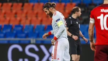 Sergio Ramos vergab zwei Elfmeter gegen die Schweiz
