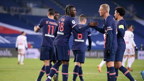 PSG setzte sich klar gegen Stade Brest durch