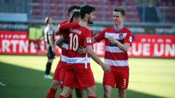 Der 1. FC Heidenheim jubelte gegen Fortuna Düsseldorf