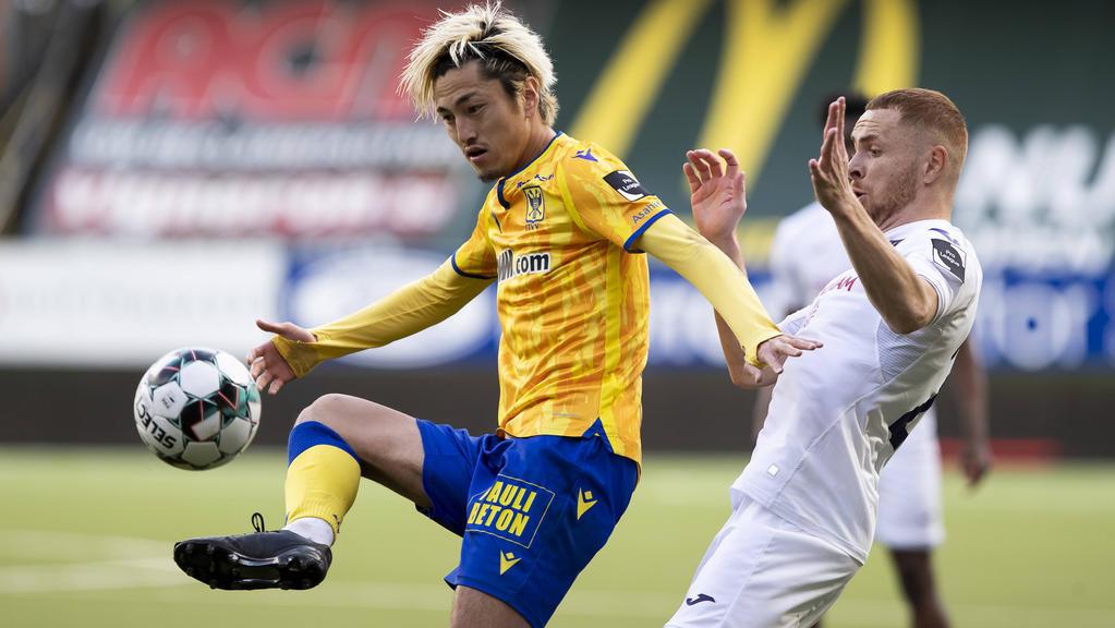 Hertha BSC beschäftigt sich angeblich mit Yuma Suzuki (l.)