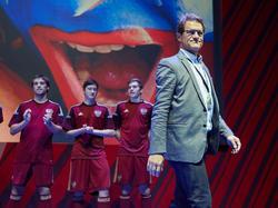 Russlands Teamchef Fabio Capello