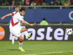 Pizarro trägt auch mit 37 noch das peruanische Schärpentrikot