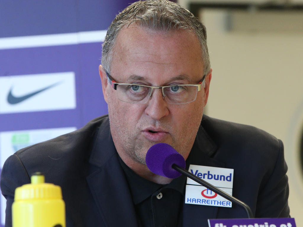 Austria-Sportdirektor warnt vor der Signalwirkung der Aussagen von Rapid-Spielern