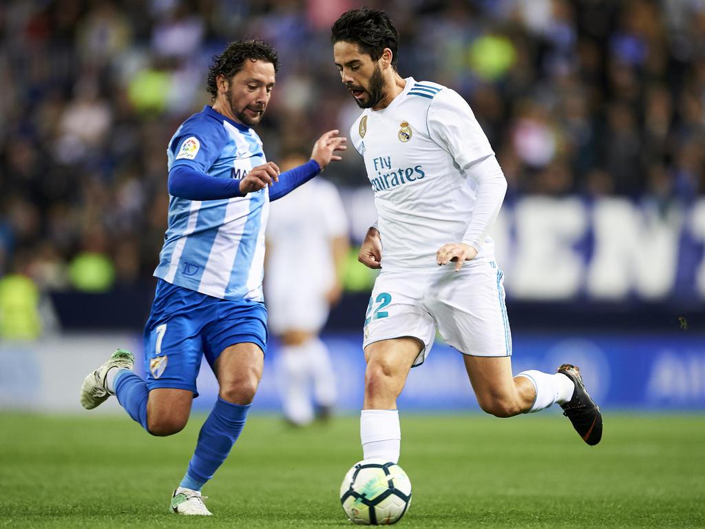 Isco (l.) markierte das zwischenzeitliche 1:0 für Real Madrid