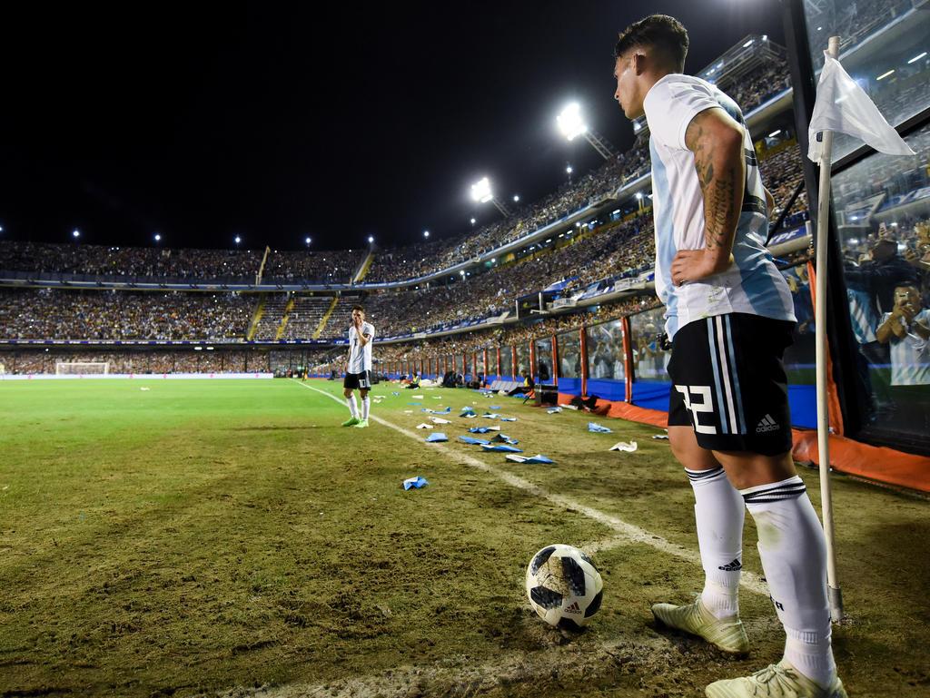 Cristian Pavón ist einer der potenziellen Stars der Fußball-WM