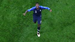 Paul Pogba steht mit Frankreich im WM-Finale