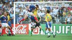 Zidane traf im Finale gleich doppelt per Kopf