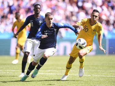 Australia se midió a Francia en el último Mundial de Rusia. (Foto: Imago)