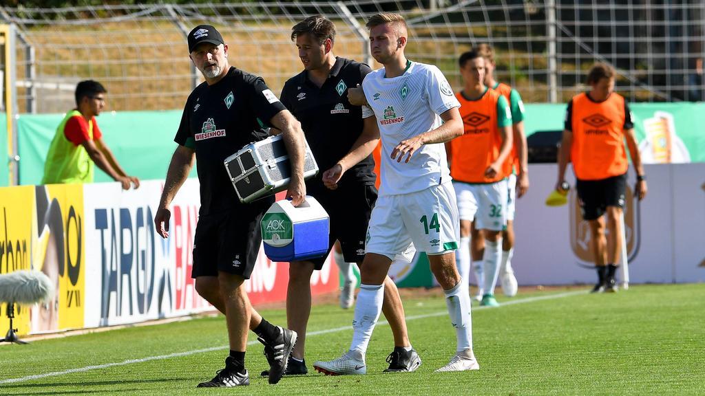 Ole Käuper fehlt dem SV Werder Bremen in den kommenden Wochen