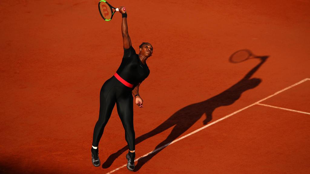 Serena Williams wird in Paris künftig auf ihren Catsuit verzichten müssen