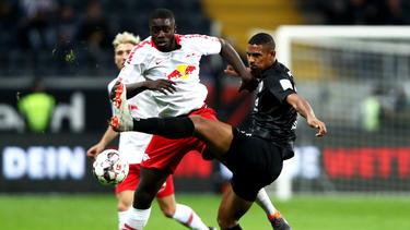 Im Duell zwischen Eintracht Frankfurt und RB Leipzig gab es keinen Sieger