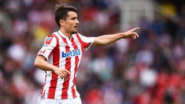 Bojan Krkic steht mit Stoke City in der Championship auf dem 17. Platz.