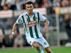 Dejan Ljubičić hat bei Rapid einen neuen Vertrag unterschrieben