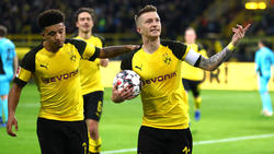 Auch dank Marco Reus (re) siegt der BVB gegen den SC Freiburg