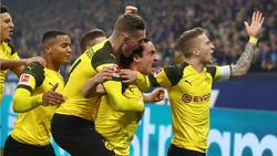 BVB gewinnt Revierderby beim FC Schalke 04