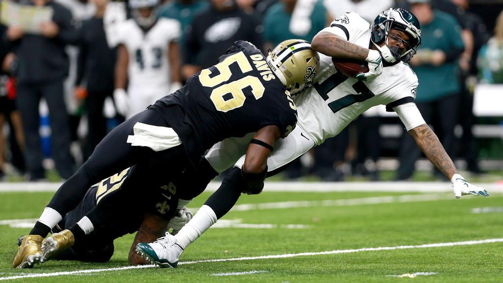 Die Philadelphia Eagles sind in den NFL-Playoffs ausgeschieden