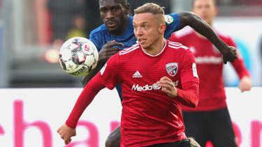 Sonny Kittel erzielte beide Treffer für den FC Ingolstadt