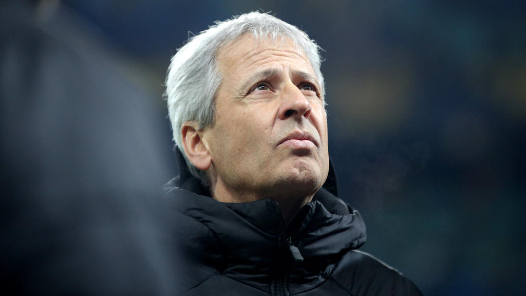 BVB-Trainer Lucien Favre hat großen Respekt vor Eintracht Frankfurt