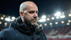 Erlebte das letzte Mal in Europacup-Spielen mit dem BVB ein Debakel: Bayer Leverkusens Trainer Peter Bosz