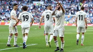 Isco empezó de titular y abrió el marcador contra el Celta. (Foto: Getty)