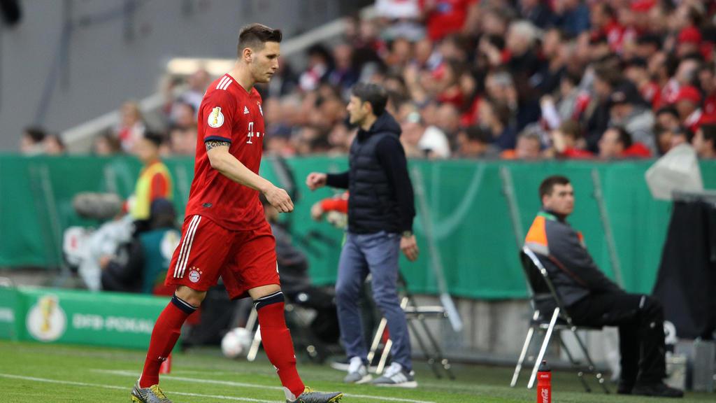 Niklas Süle musste gegen den 1. FC Heidenheim das Feld frühzeitig verlassen