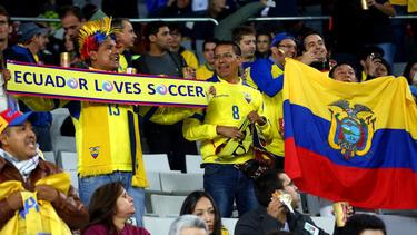 Imagen de archivo de la afición ecuatoriana.