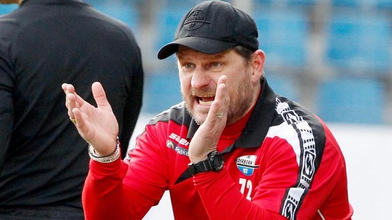 Paderborn-Coach Steffen Baumgart steigt mit seinem Team in die Vorbereitung auf die Bundesliga-Saison ein