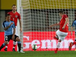 Österreich gegen Uruguay