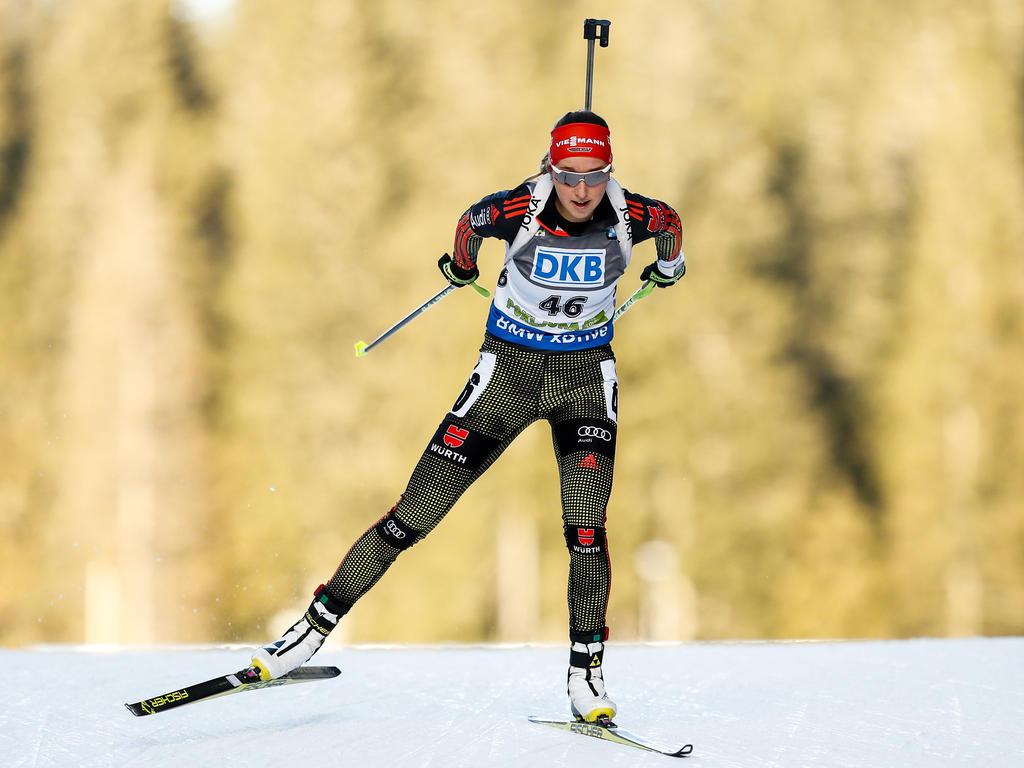 Franziska Preuß wird den Weltcup im österreichischen Hochfilzen verpassen