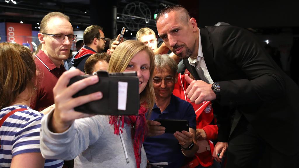 Nicht nur bei den Bayern-Fans beliebt: Franck Ribéry