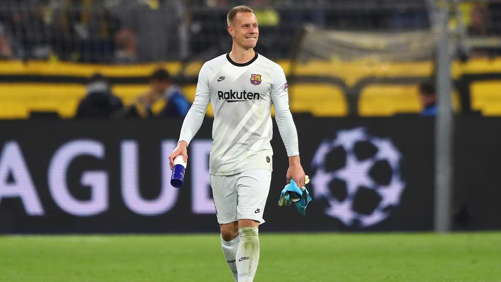 Marc-André ter Stegen lieferte in Dortmund eine blitzsaubere Leistung