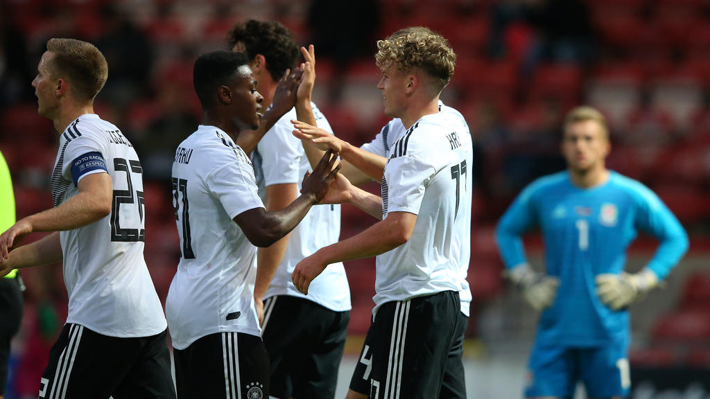 Die U21 des des DFB hat einen überzeugenden Sieg gefeiert