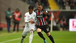 Werder Bremen und Eintracht Frankfurt teilten sich die Punkte