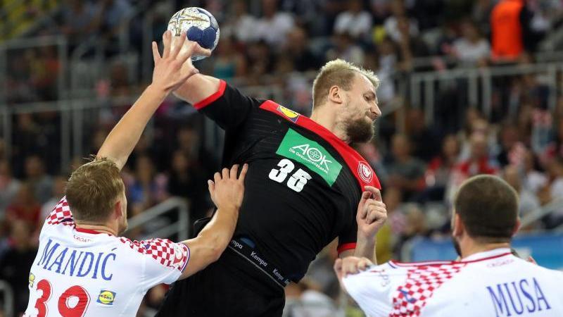 Julius Kühn machte ein starkes Spiel gegen Kroatien